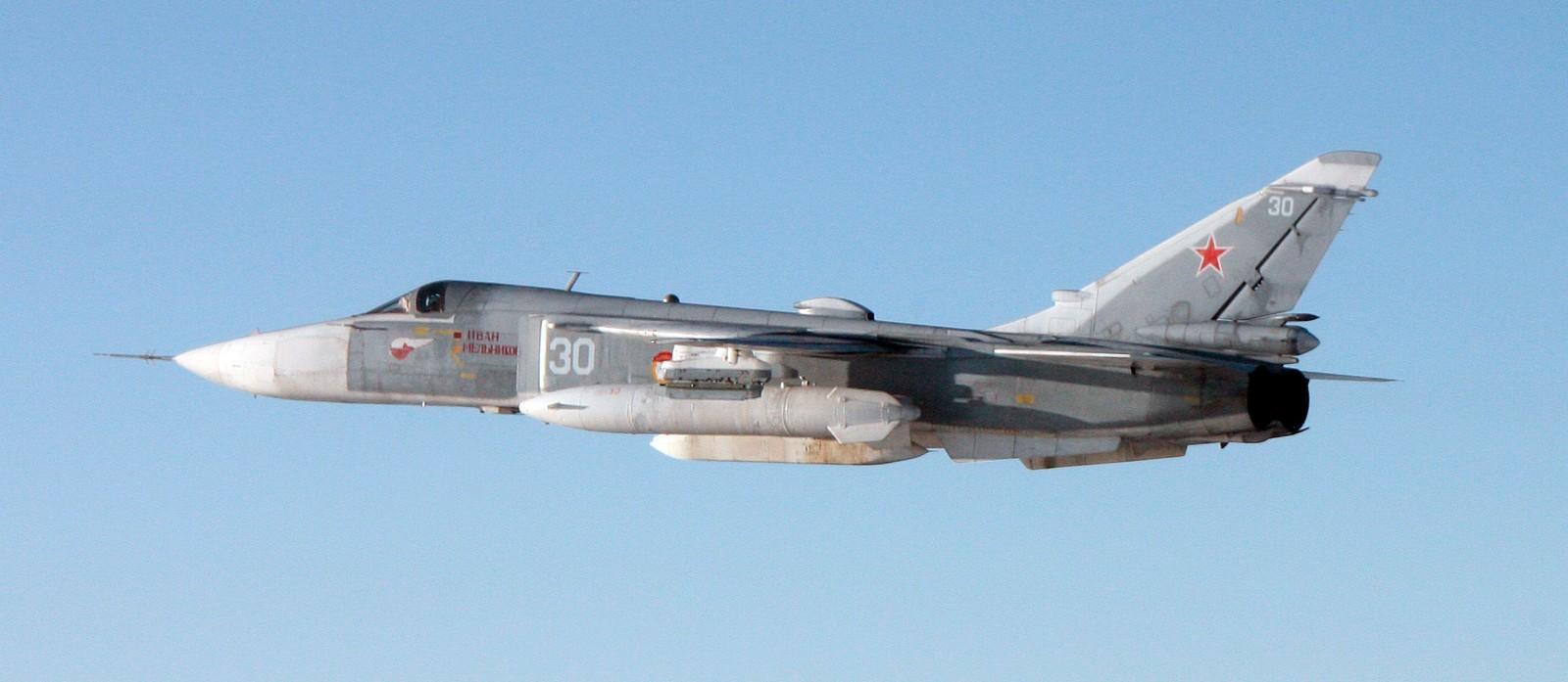 Sukhoj Su-24 ( NATO-kallenavn: «Fencer» ) er et taktisk angrepsfly utviklet i Sovjetunionen.