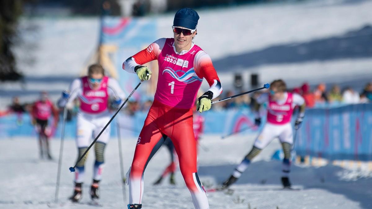 Vant sprintgull i ungdoms-OL