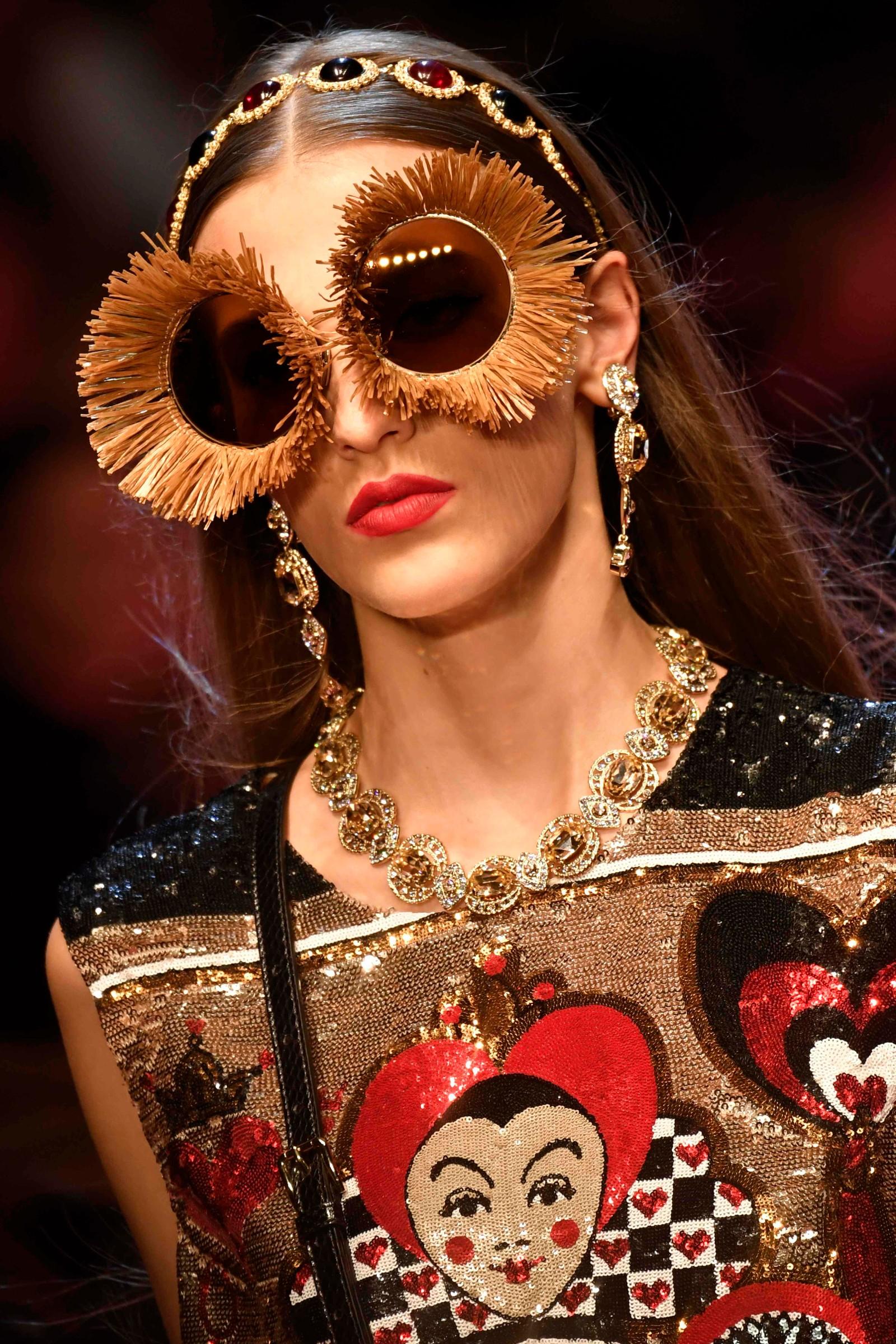 Dolce & Gabbana: Ville detaljar.