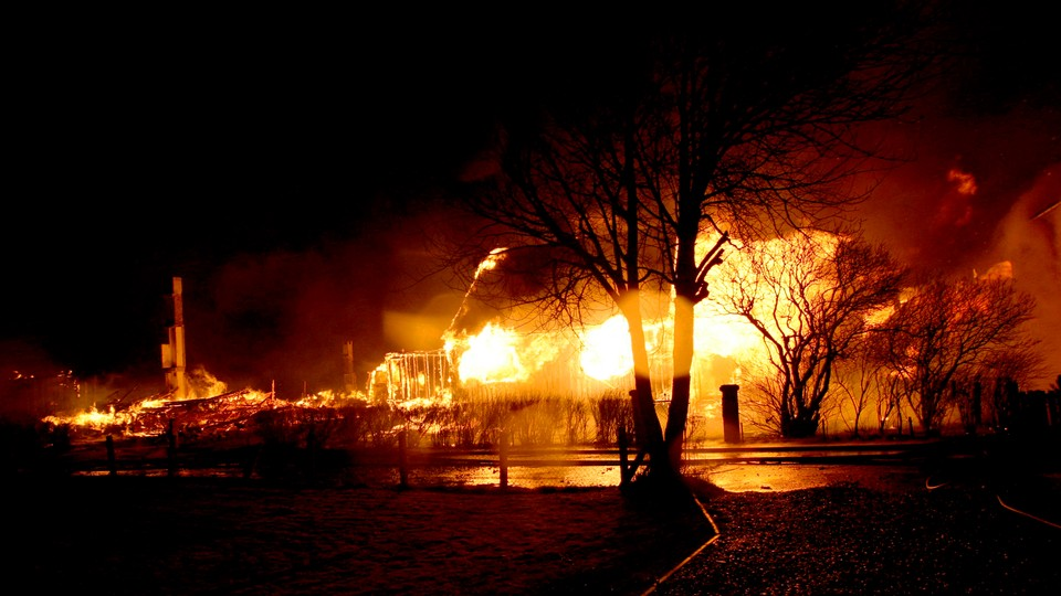 Storbrannen i Lærdal