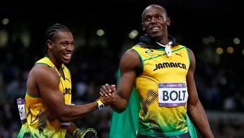Yohan Blake Usain Bolt