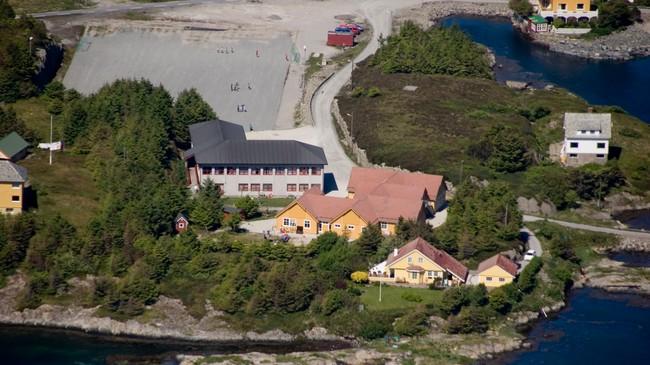 Bulandet skule. Foto: Merete Husmo Høidal, NRK.