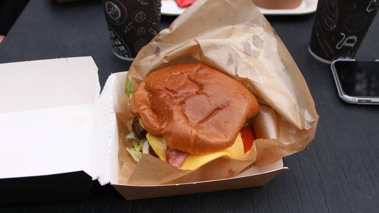 Hamburger i Dyreparken