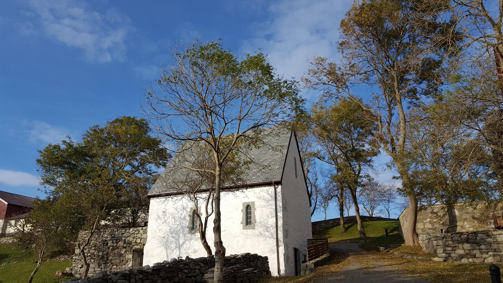 Abbedens hus på Utstein kloster i Rennesøy kommune.