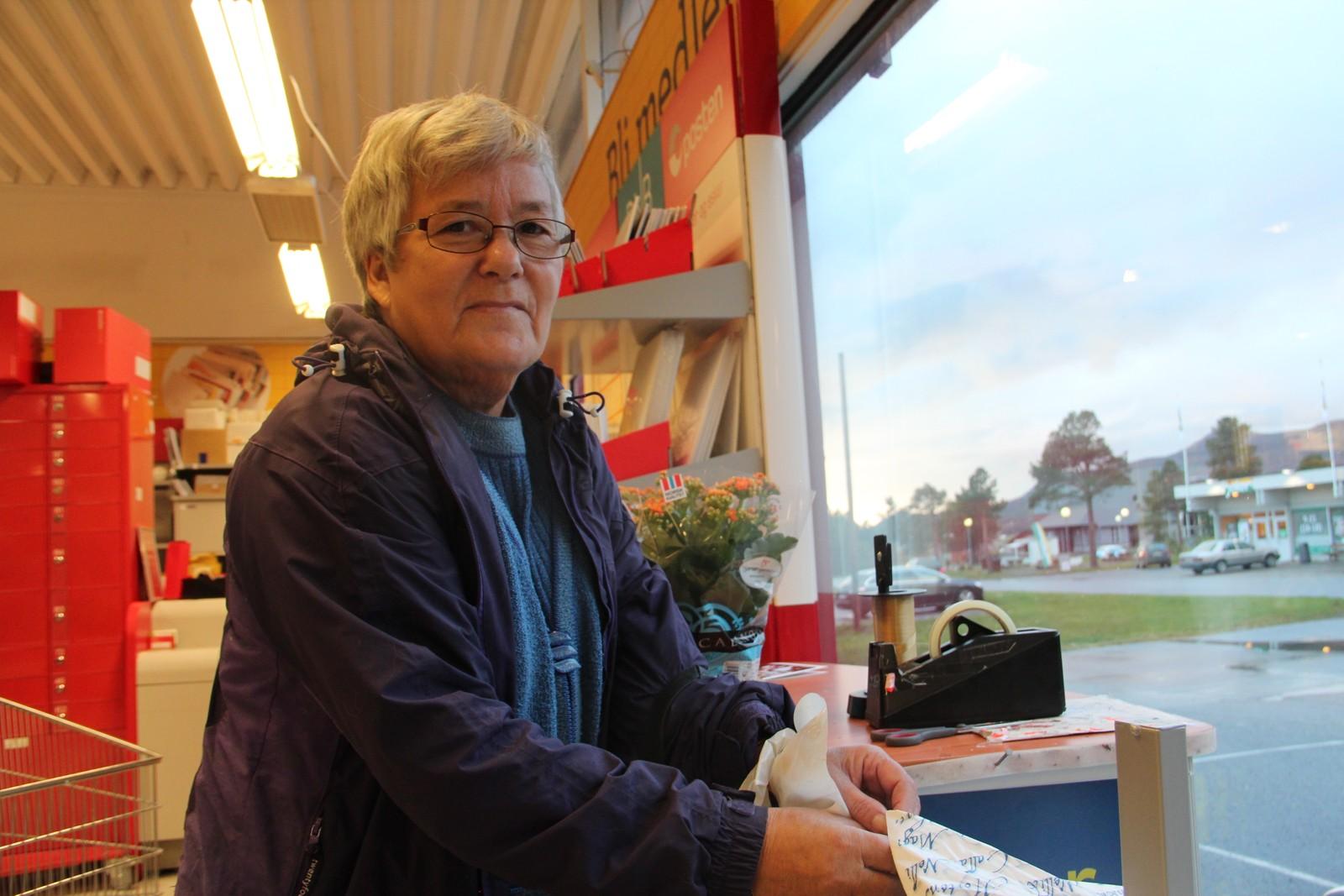 Elly Jensen er fra Alta: – Det er fint om Finnmark blir enda større, sier hun.