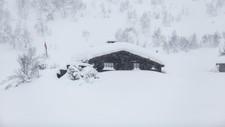 Meteorologene slår fast at det blir en kjølig værtype med nedbør i form av regn og snø over hele landet første del av påska. De ser likevel glimt av sol gjennom høytiden, først i nord og så i sør. Bildet er fra Sirdal i vinterferien.