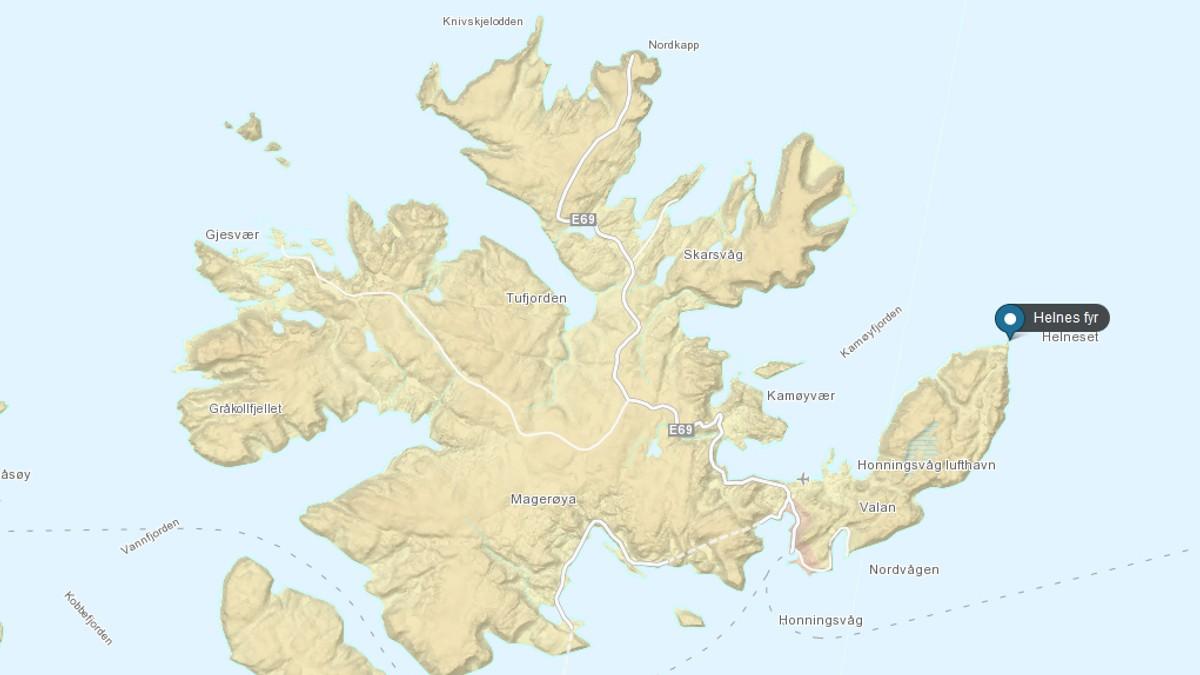 magerøya kart Død mann kan være fra Nederland – NRK Troms   Lokale nyheter, TV  magerøya kart