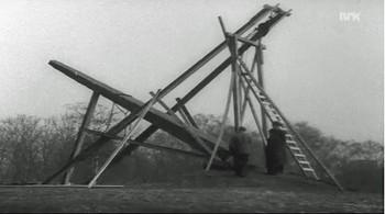 Video Snorresteinen rives i Slottsparken