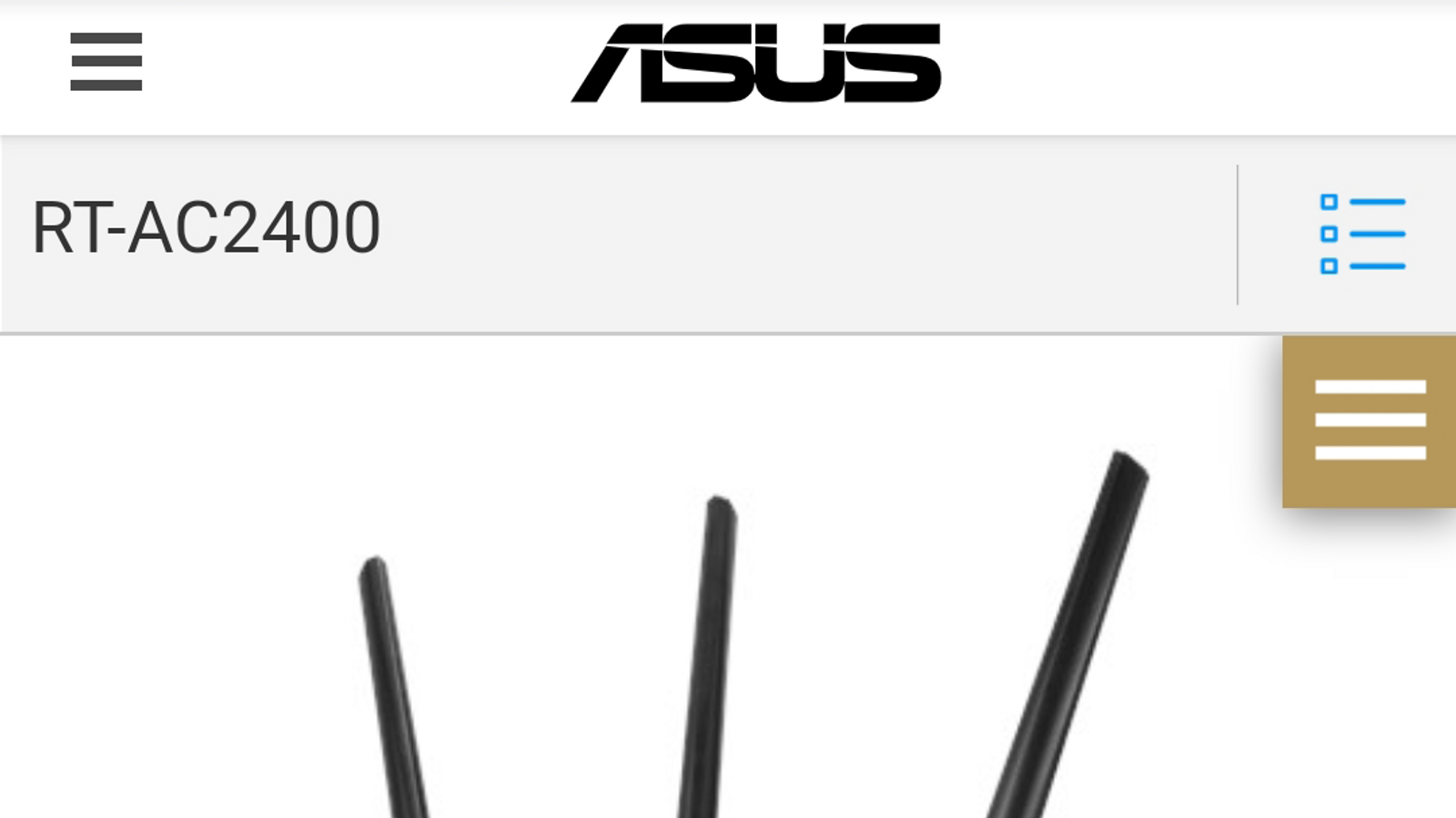 Asus RT-AC2400 router