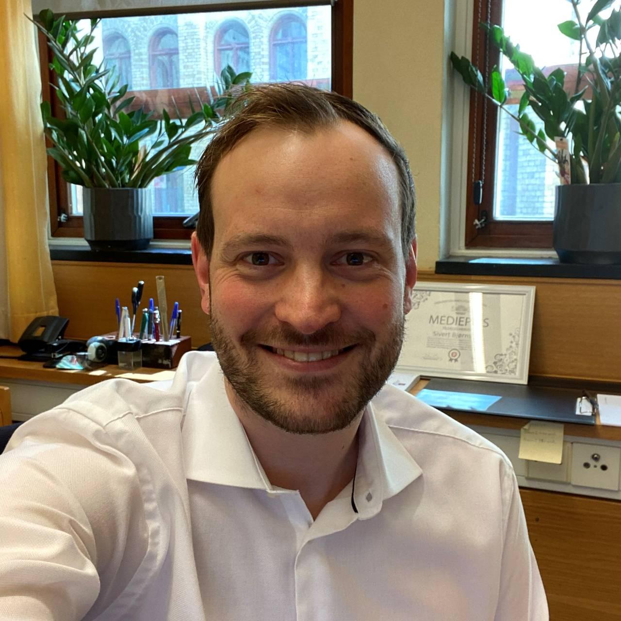 Bilde av Sivert Bjørnstad, stortingsrepresentant