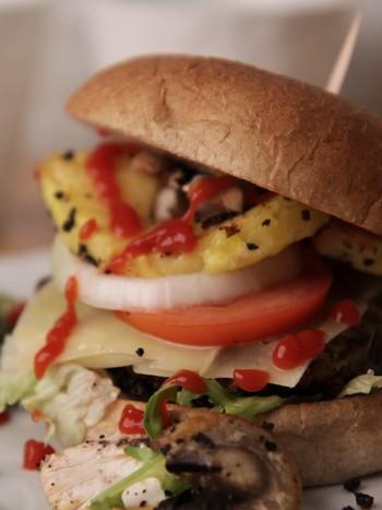 Sunn hamburger