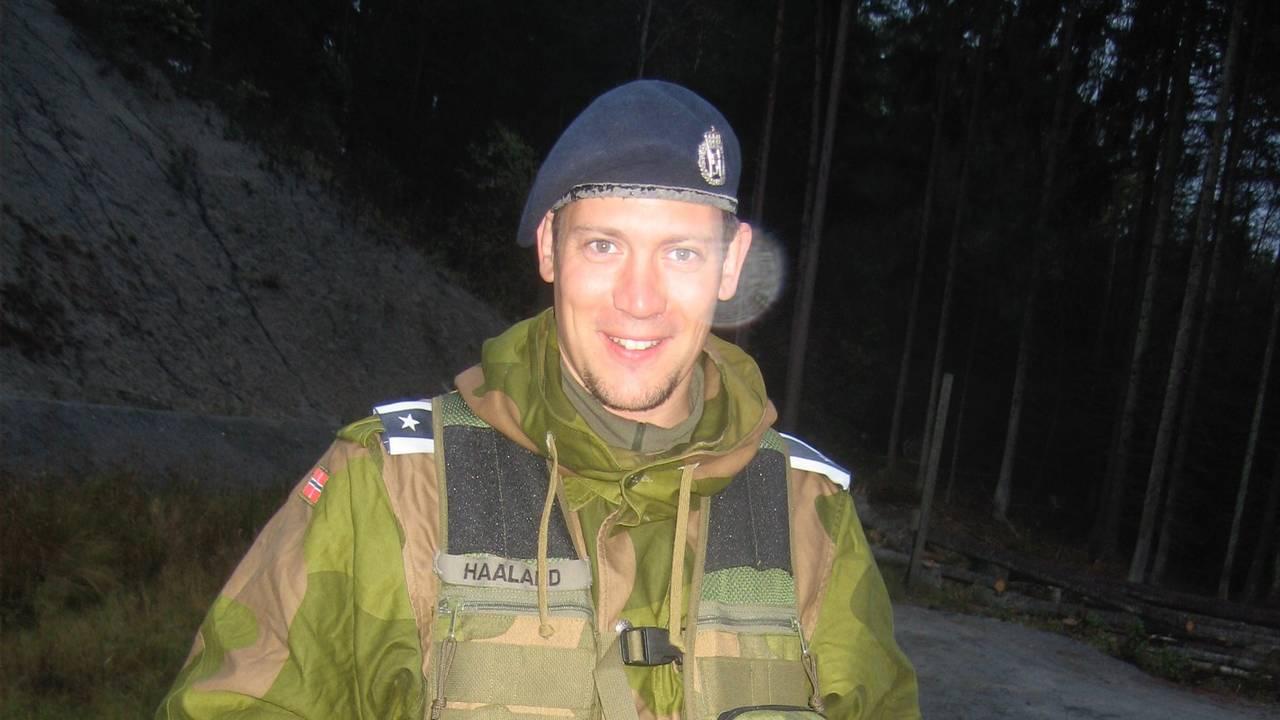 André Haaland var døden nær på Scandinavian Star i 1990.