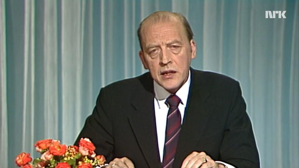 Statsministeren taler: Odvar Nordli 1980