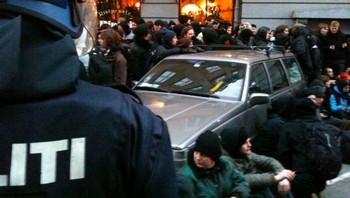 Arrestasjoner i København