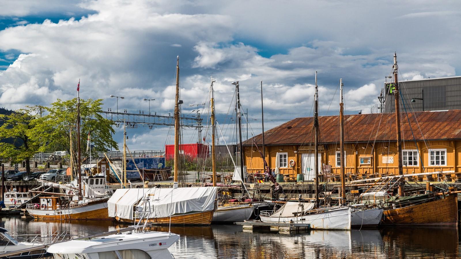 I Kanalen i Trondheim