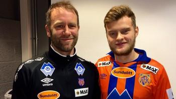 Adam Örn Trandarson og Trond Fredriksen