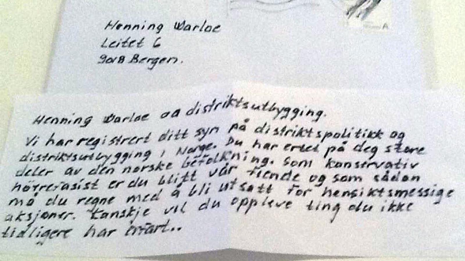 Til Henning Warloe