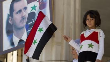 Syrisk druserjente på uavhengighetsdagen