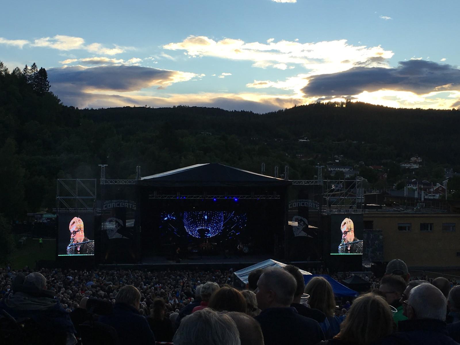 Elton John-konsert Sverresborg i Trondheim