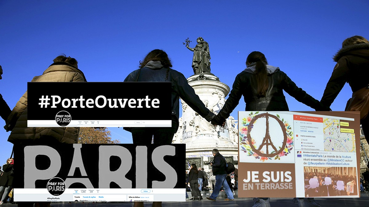 Je Suis En Terrasse new study on paris terrorism: social media has strengthened