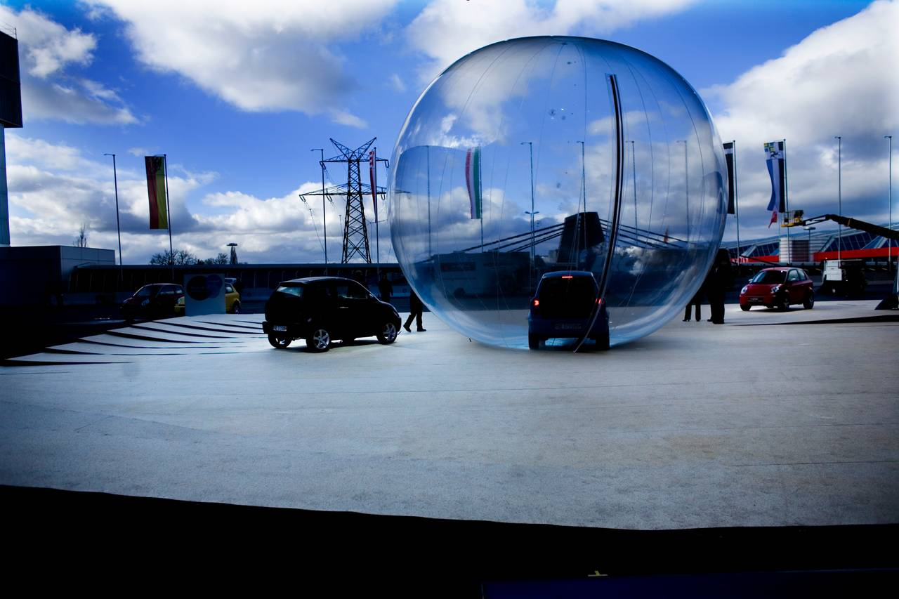 Think under Europas største bilmesse i Geneve i 2008