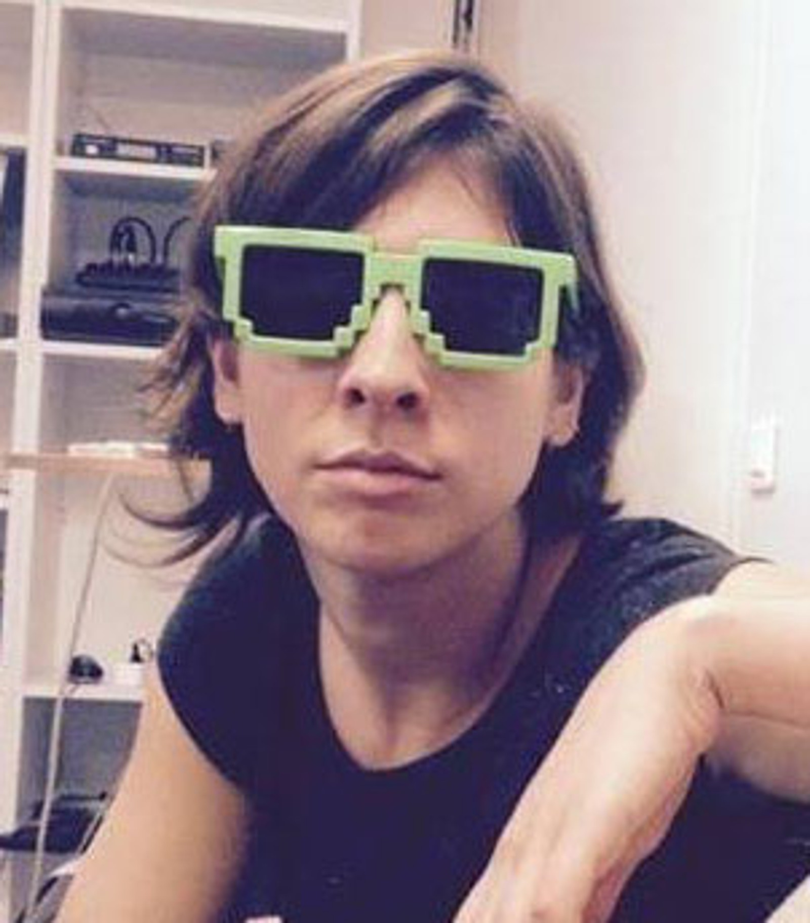 DREPT: Lola Salines (28) drev med rulleskøytesporten Roller Derby og jobbet i et forlag som publiserte barnebøker. Hun ble drept på Bataclan.