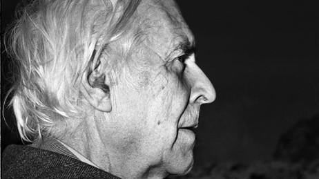 Kunstneren Kaare Espolin Johnson (1907-1994). Foto: Bjørn Tore Pedersen