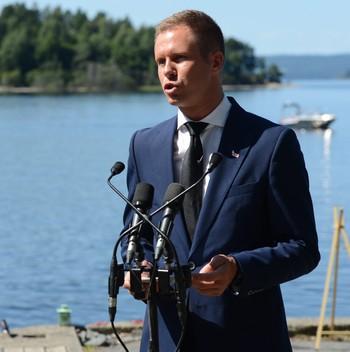 Eskil Pedersen Utøya, 22.juli 2013
