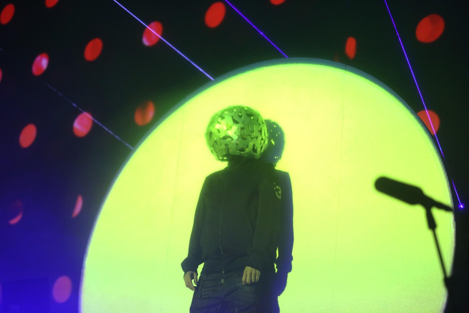 Chris Lowe i Pet Shop Boys. Han tok av seg diskokulen til slutt.