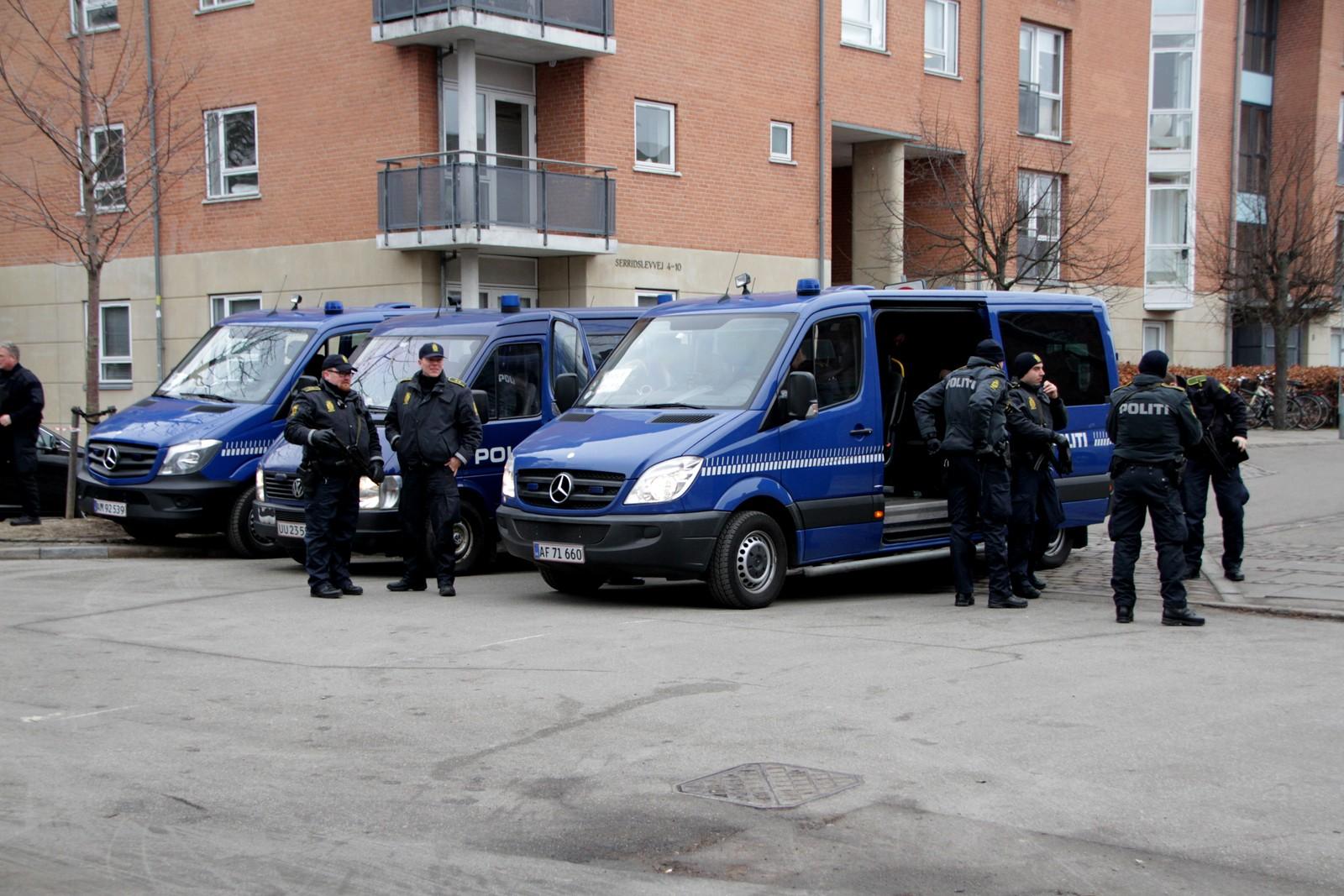 Politiet er synlig til stede i Københavnsgater.
