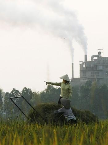Sementfabrikk utenfor Hanoi