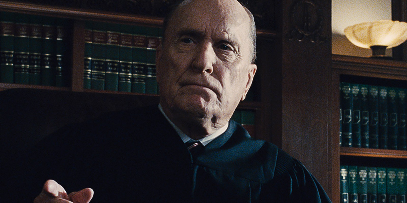 NOMINERT BESTE MANNLIGE BIROLLE: Robert Duvall i «The Judge».