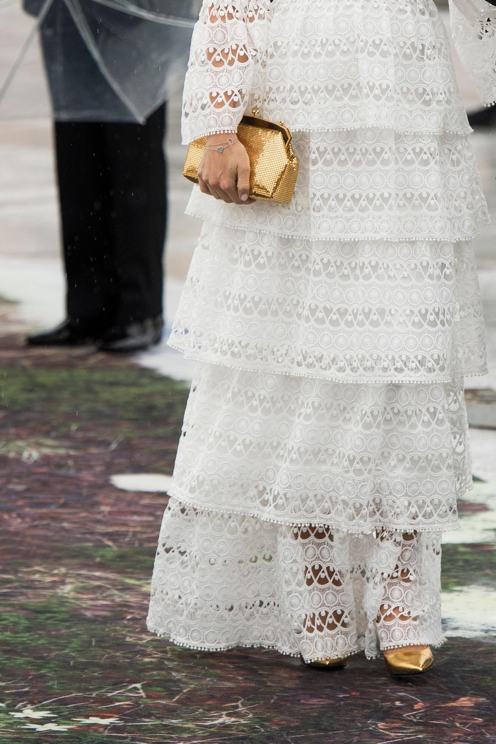 Prinsesse Sofia av Sverige hadde en gullveske.