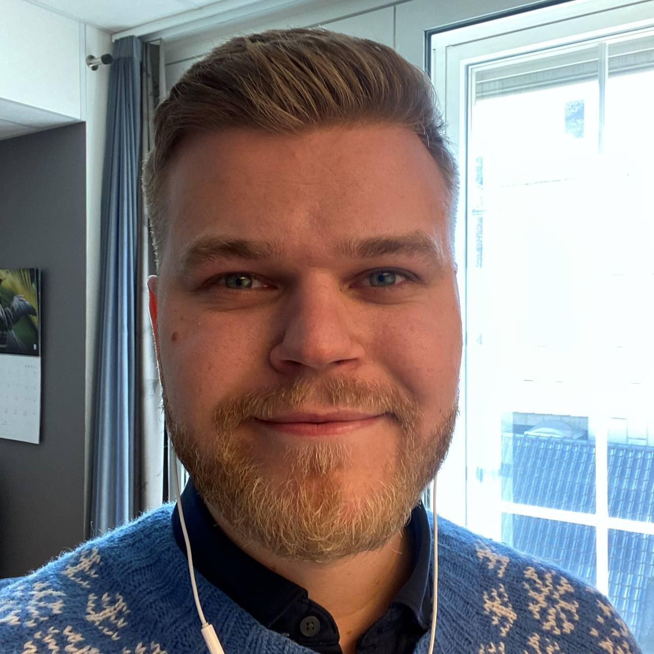 Bilde av Even Aronsen, statssekretær og stortingskandidat