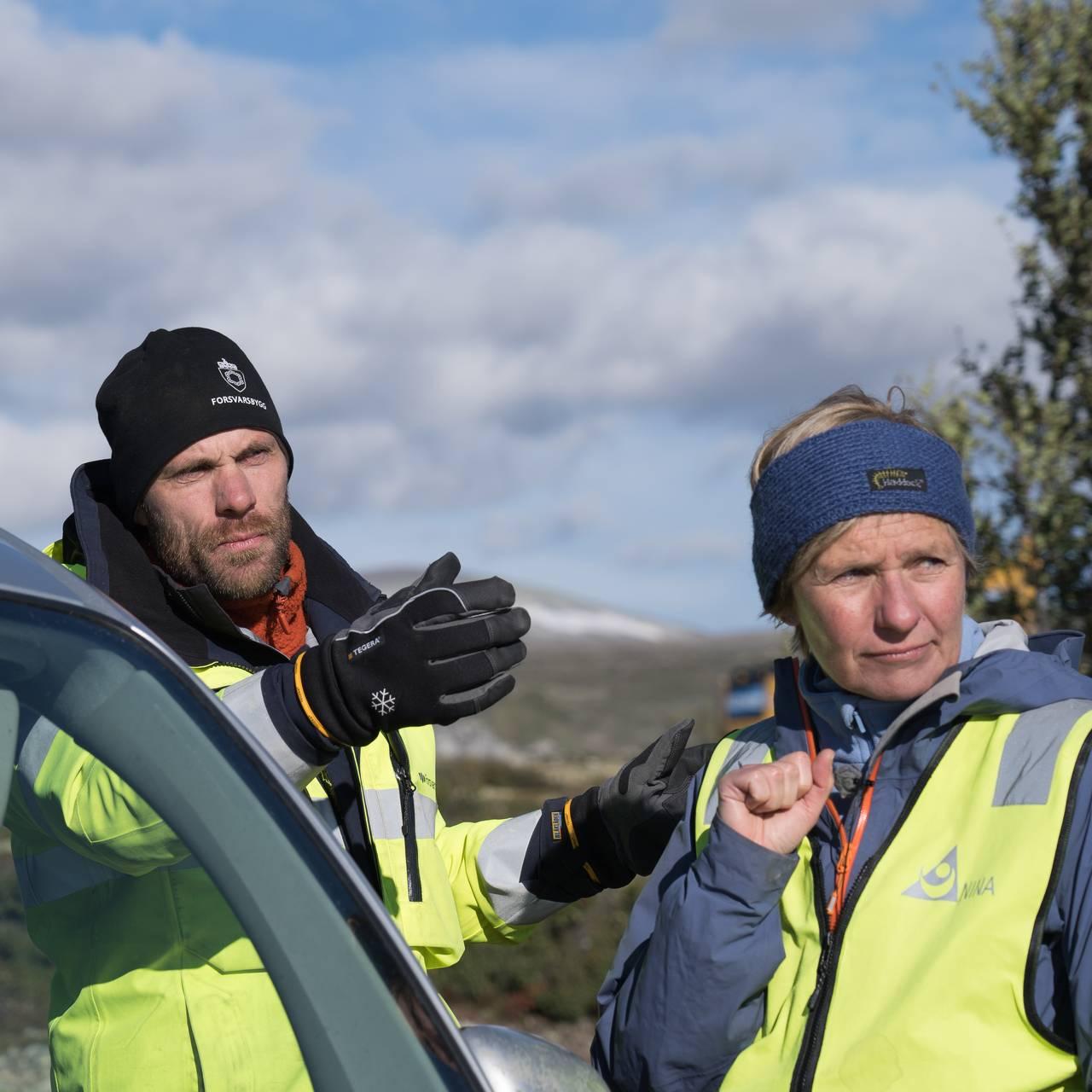 Pål Skovli Henriksen og Dagmar Hagen