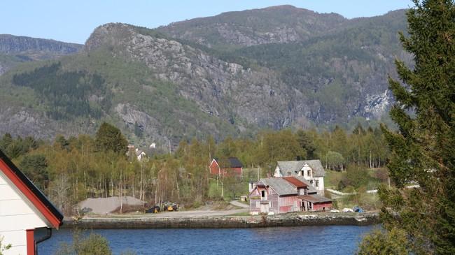 Den gamle kaia i Hellevik. Foto: Ottar Starheim, NRK.