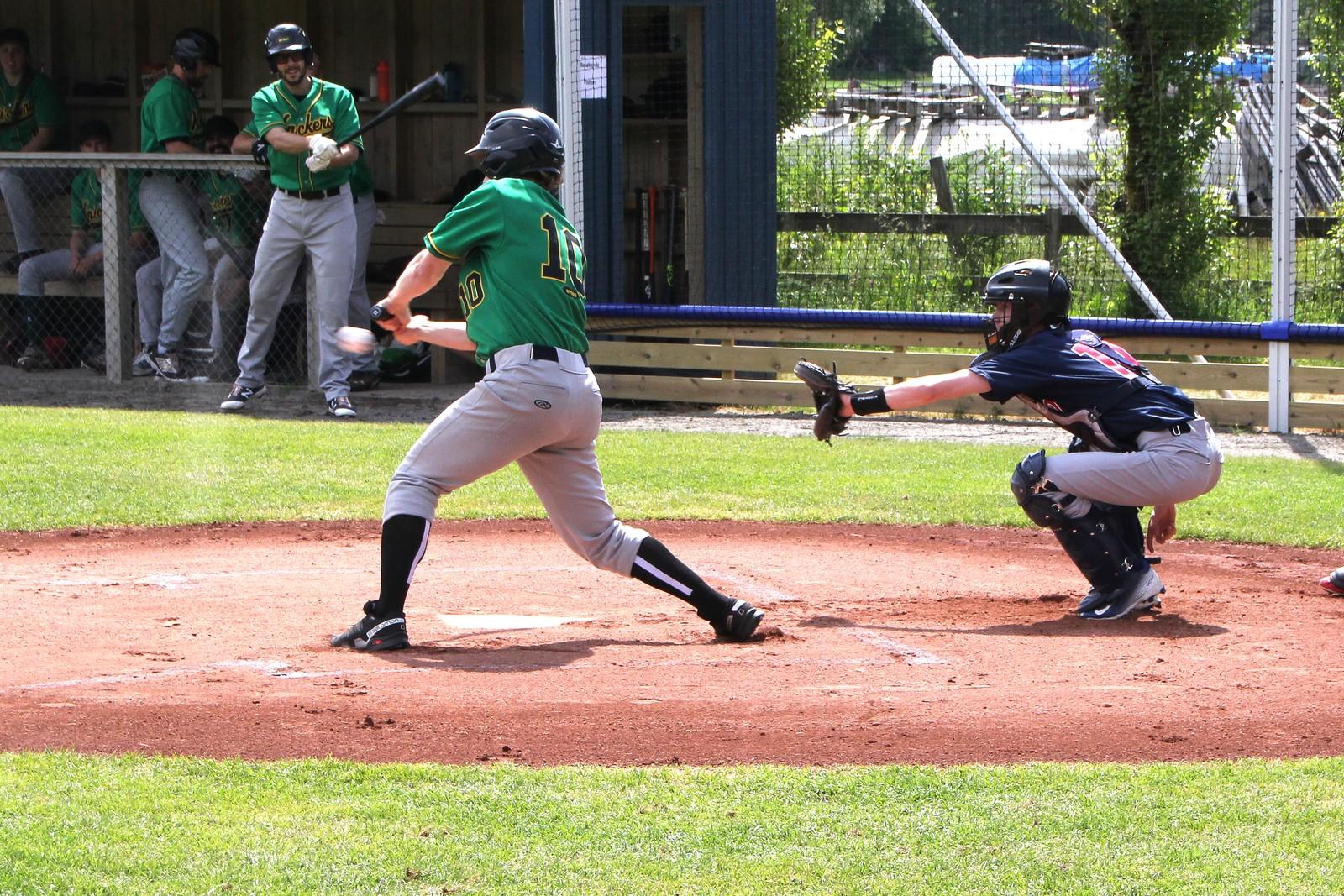 Ny baseballbane er åpnet på Dønnestad i Tveit.