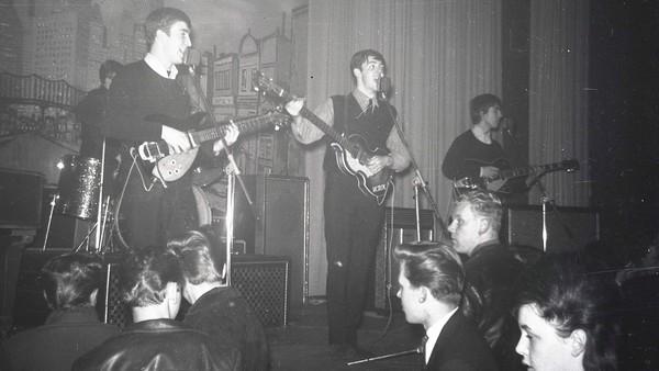 Unike opptak fra Beatles' oppstart