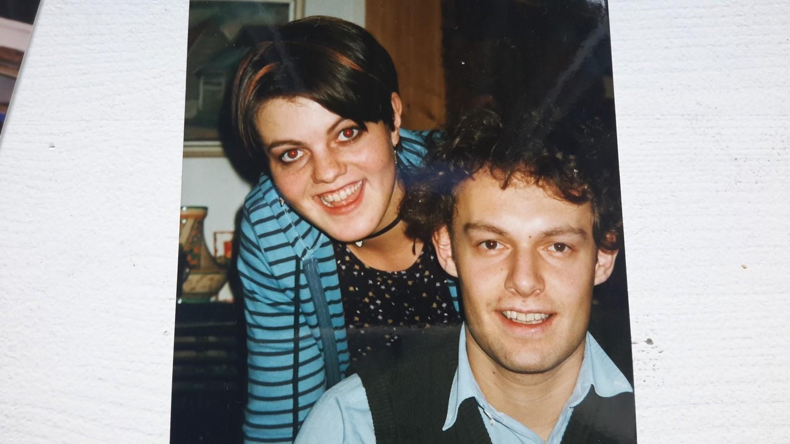 Torgeir sammen med søsteren Gunvor.