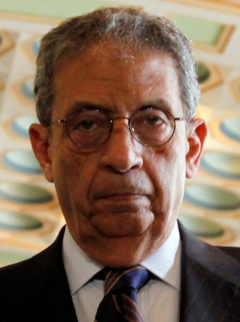 Amr Moussa, generalsekretær i Den arabiske liga