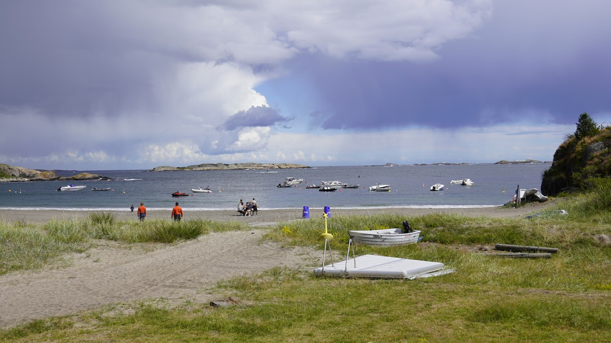Oddane sand, strand, Gurvika