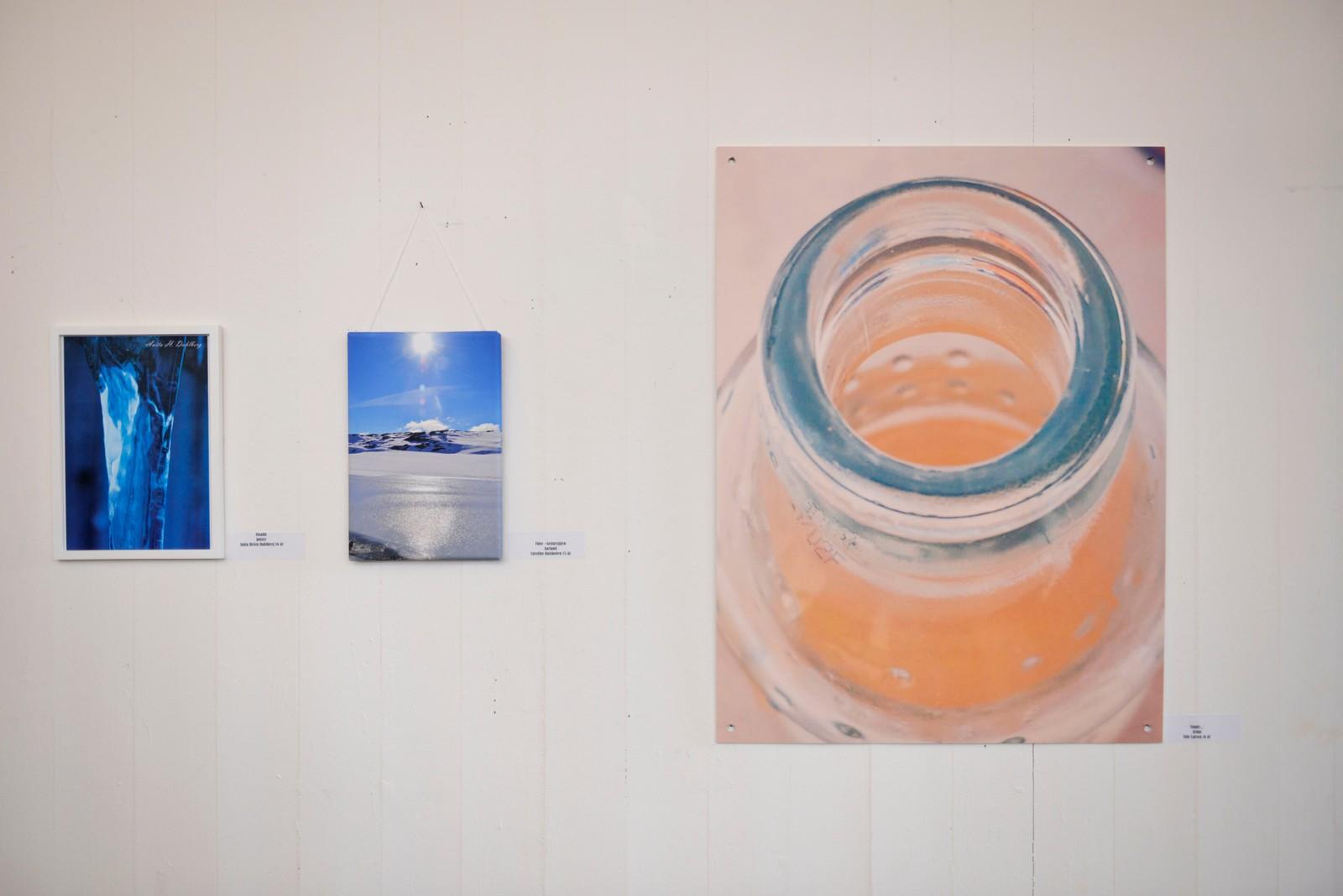 Naturbilete av Caroline Dalsbotten (t.v)- Empty av Silje Larsen (t.h).