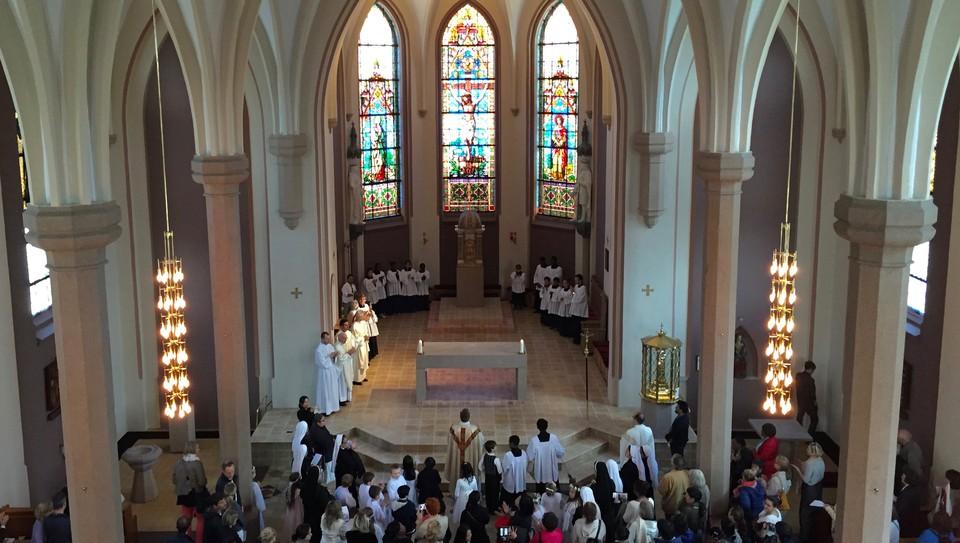 Katolsk messe i St. Olav domkirke
