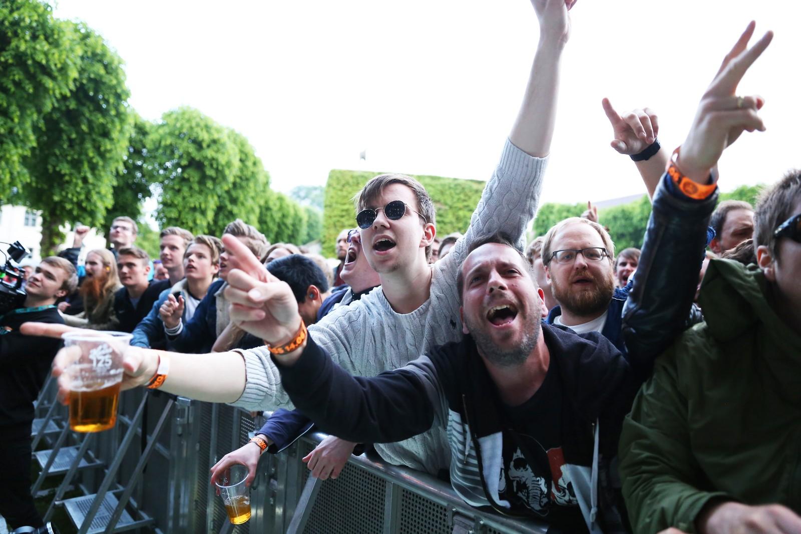 Oasis-fans på Bergenfest