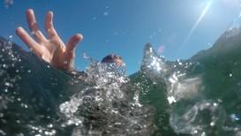 Bading er en glede sommerferien - Foto: Guro Lilledal Andersen