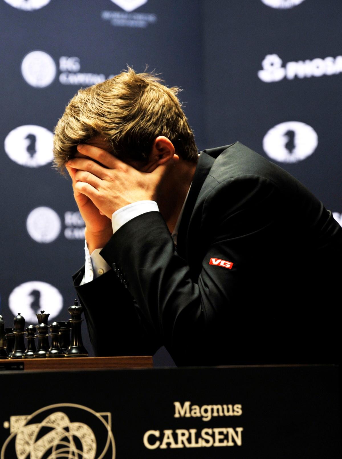 Frustrert Carlsen Dette Var Under Min Standard Nrk Sport Sportsnyheter Resultater Og Sendeplan