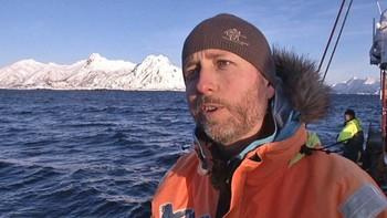 Miljøvernminister Bård Vegard Solhjell i Lofoten