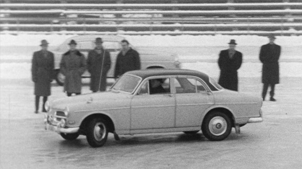 Bilen om vinteren
