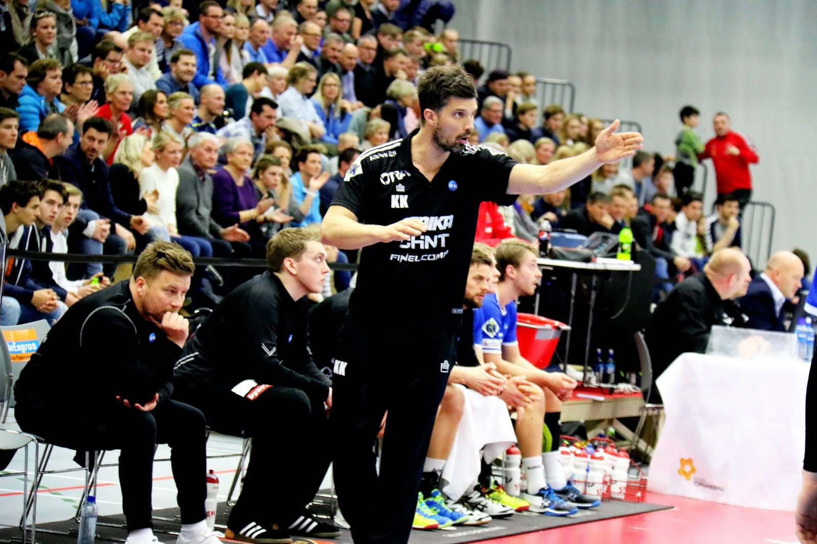 Drammen-trenar Kristian Kjelling.