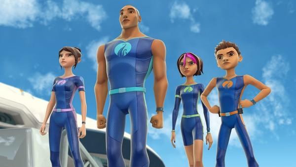 Australsk animasjonsserie om familien Nekton som bor på en undervannsbåt. De lever som utforskere.